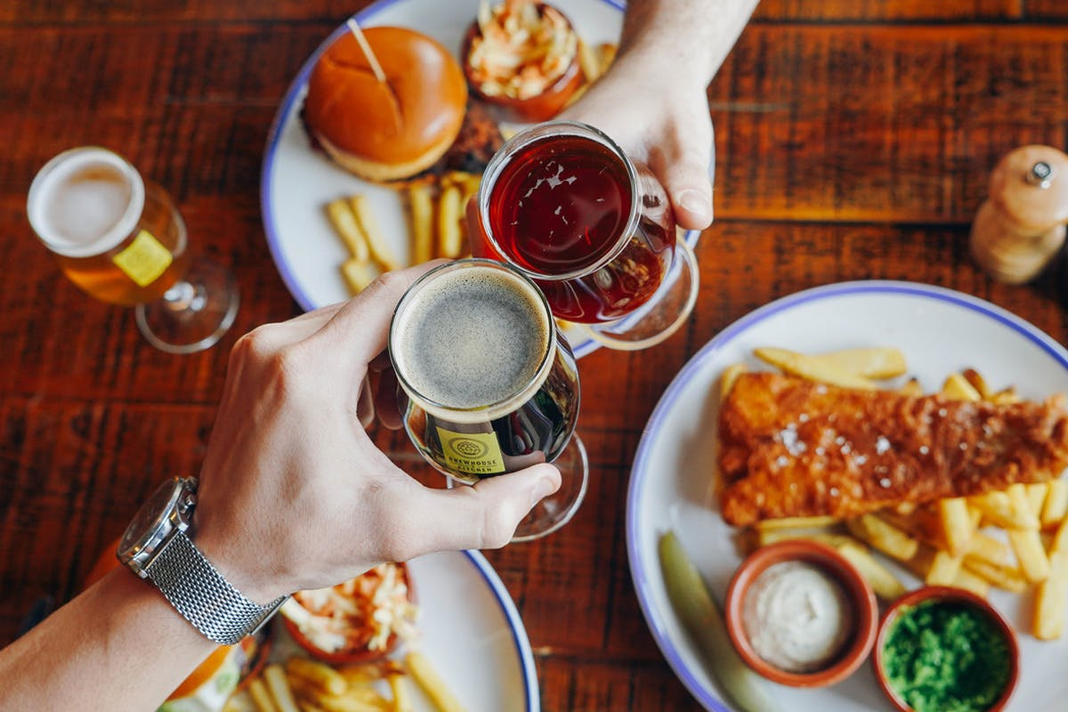Christmas gifts for couples beer masterclass with burgers Virgin Experience Days