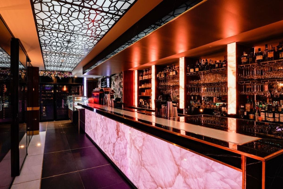 Champagne and Caviar for Two at Arc Le Salon, Mayfair