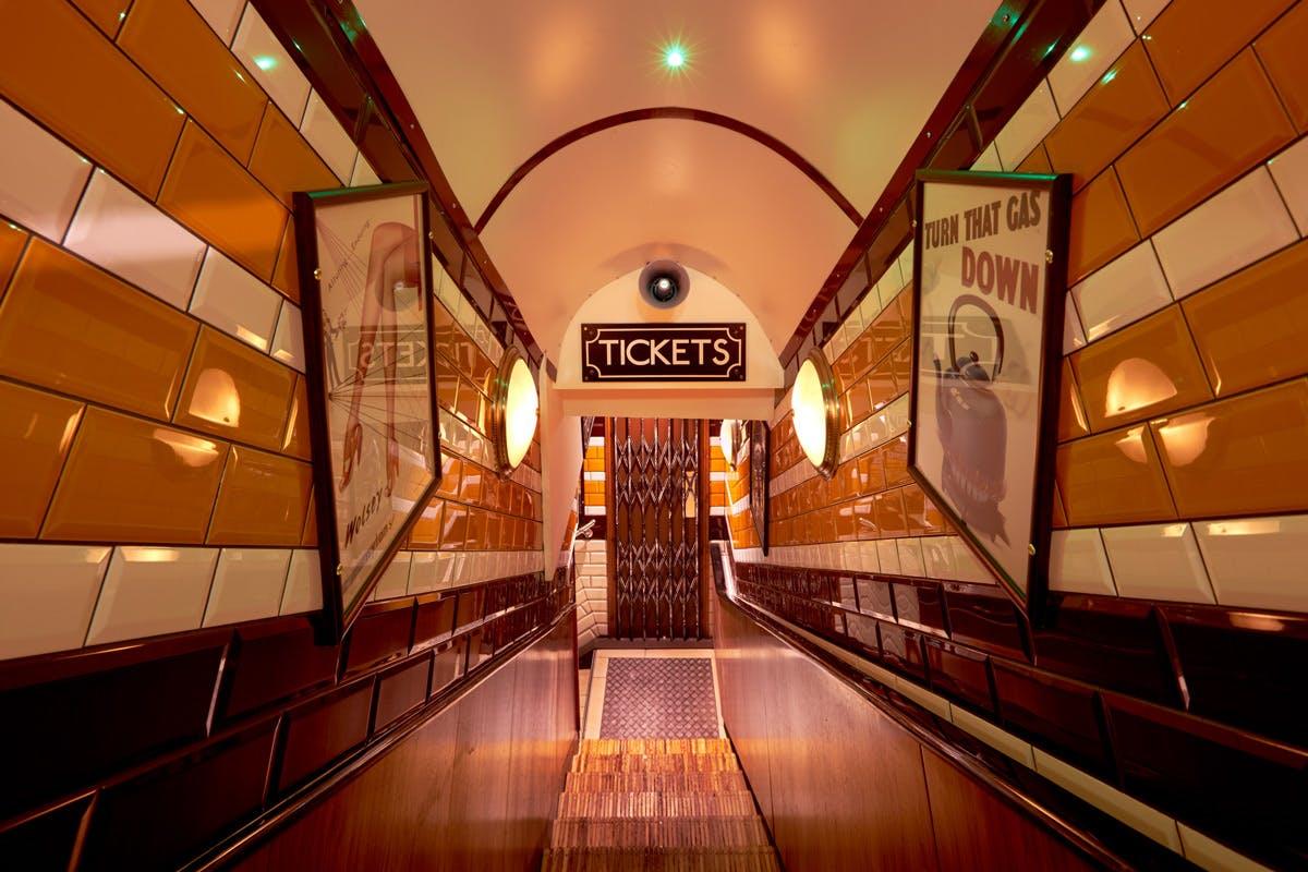 Cahoots underground 1940s bar in Soho London