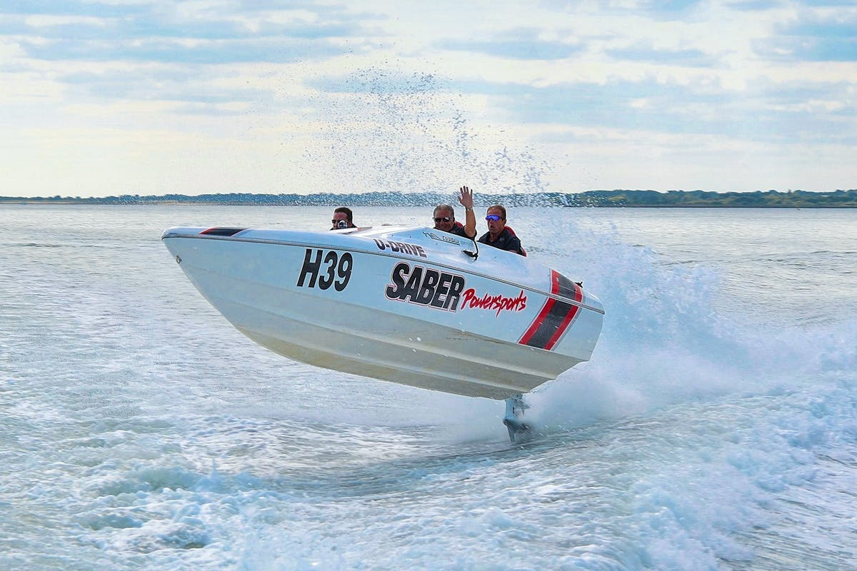 Honda boat race experience with one to one coaching