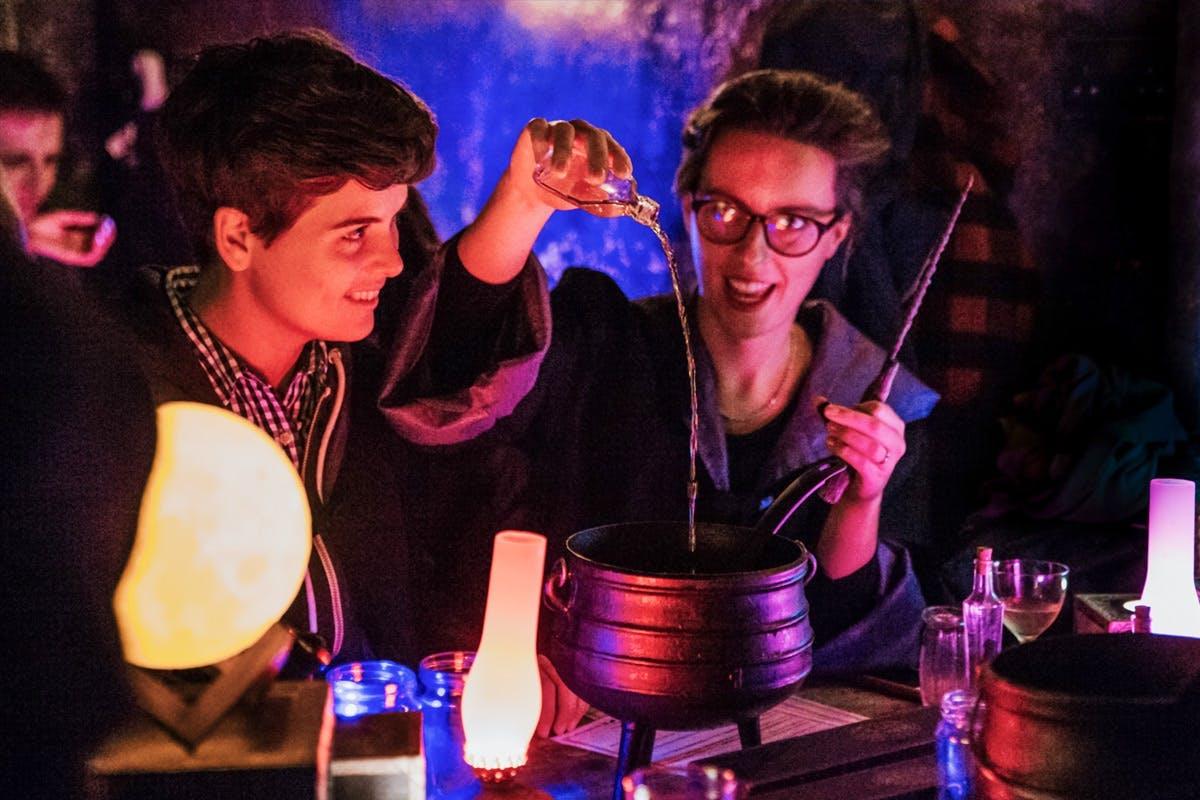 Immersive bars in London 2021 The Cauldron