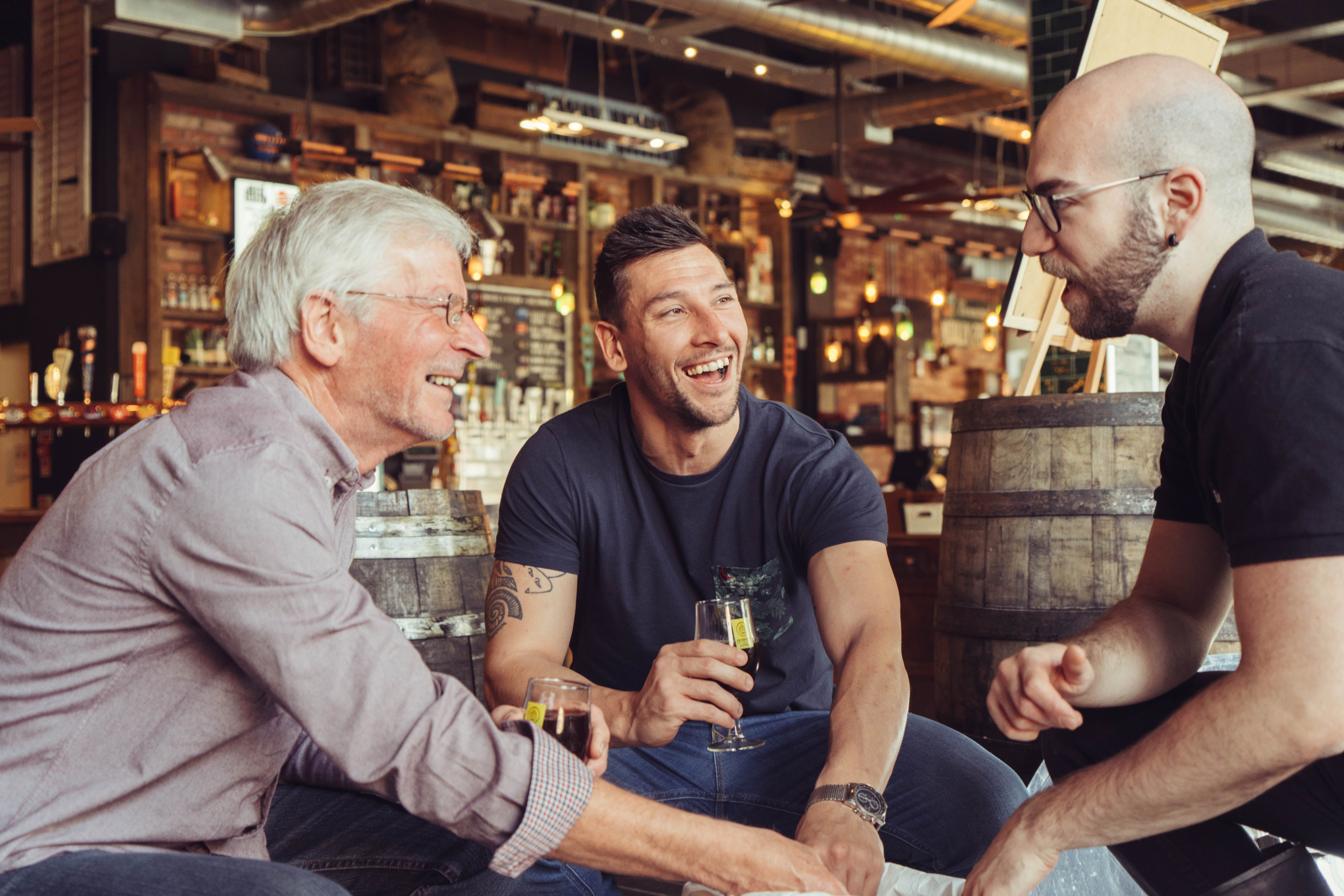 Beer food matching at Brewhouse & Kitchen Father's Day gifts with Virgin Experience Days