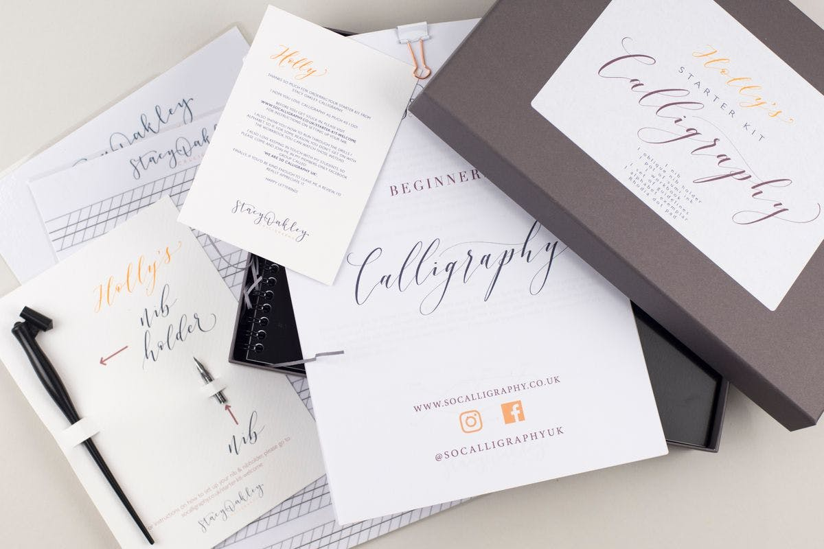 New skills to try at home calligraphy workshop with Virgin Experience Days
