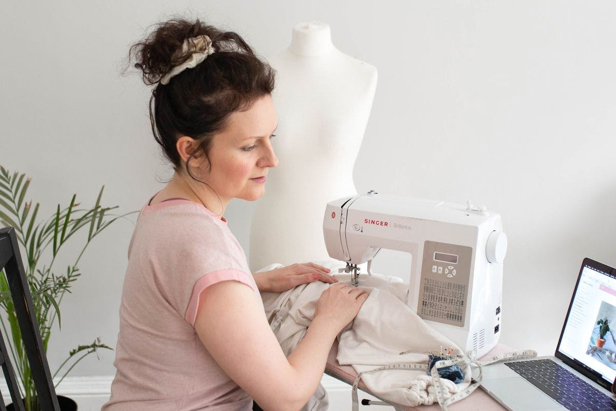 Arkdefo sustainable online sewing courses with Virgin Experience Days