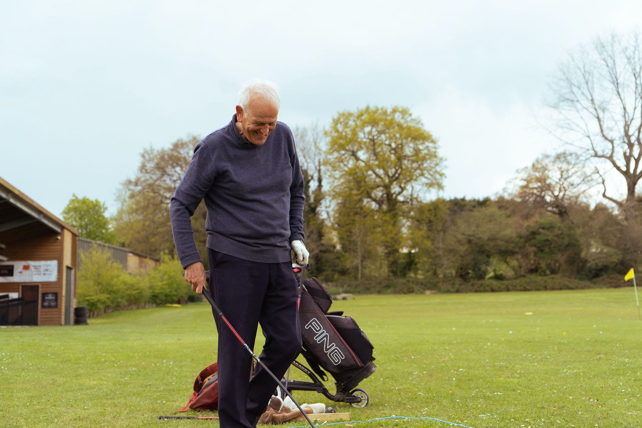 Father's Day gifts under £50 professional golf lesson