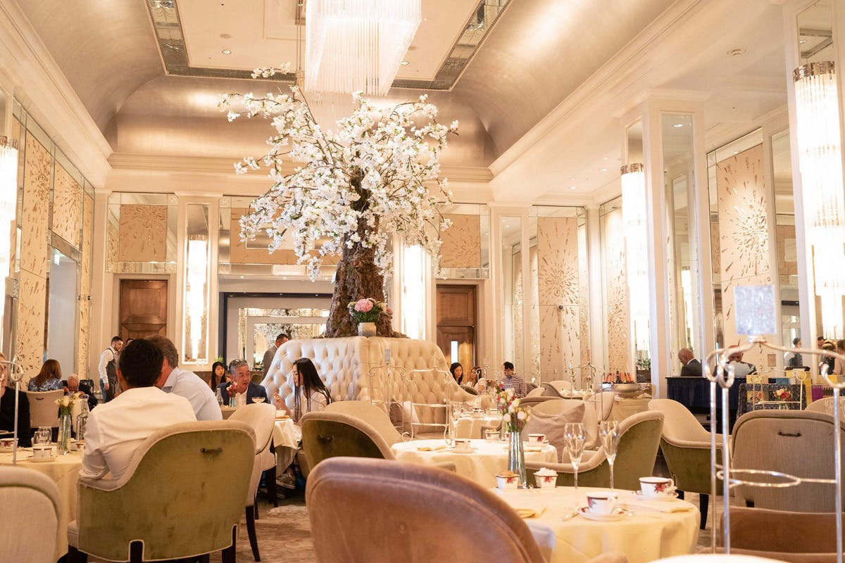 Afternoon tea at The Langham London Christmas gifts for couples Virgin Experience Days