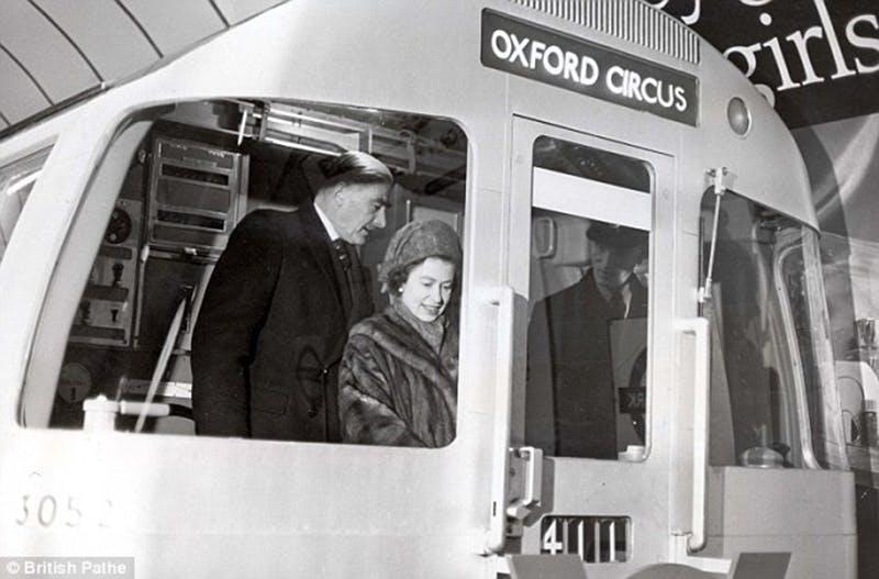The Queen Drives a Train 1969
