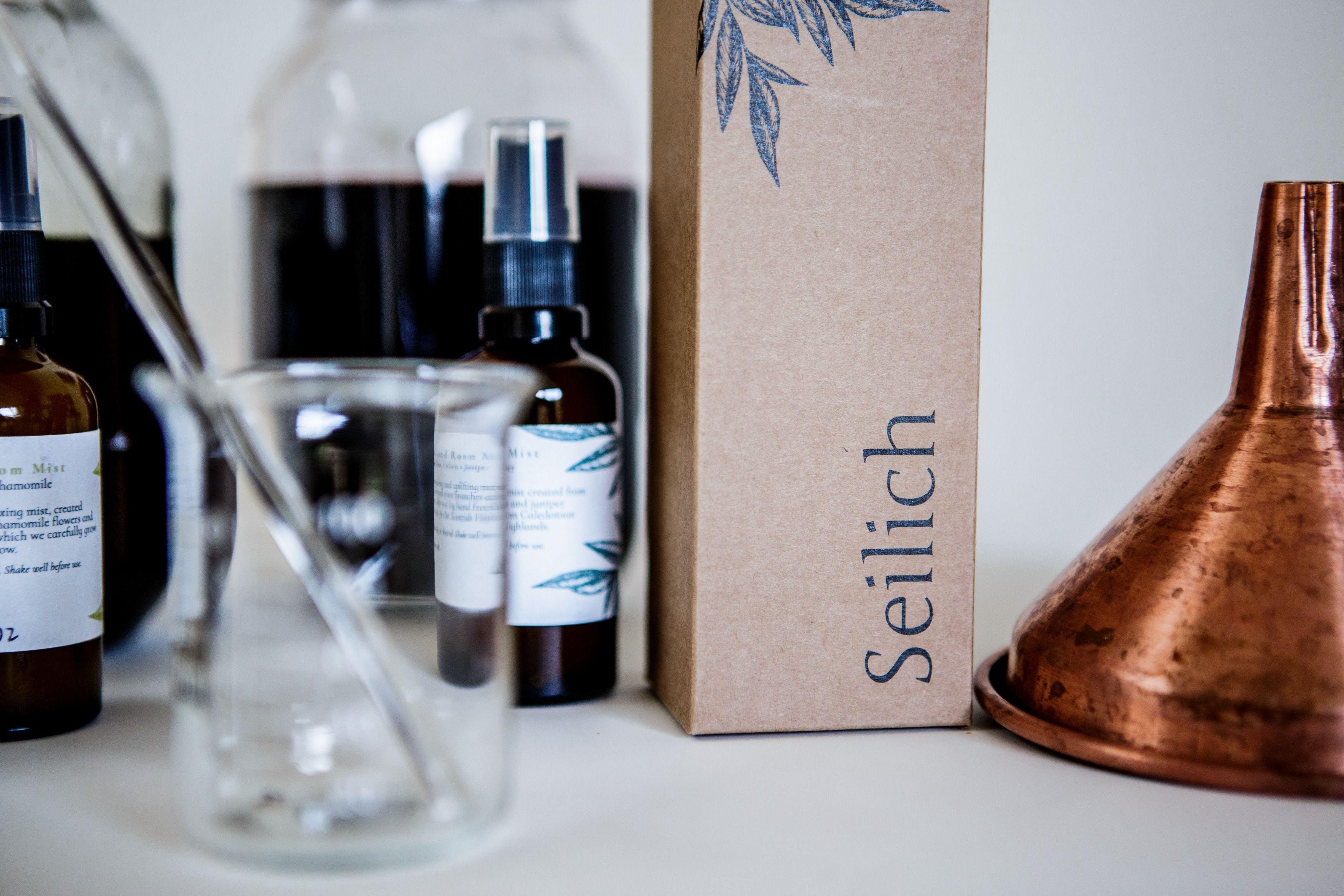 Seilich Botanicals wildlife friendly and sustainable skincare set