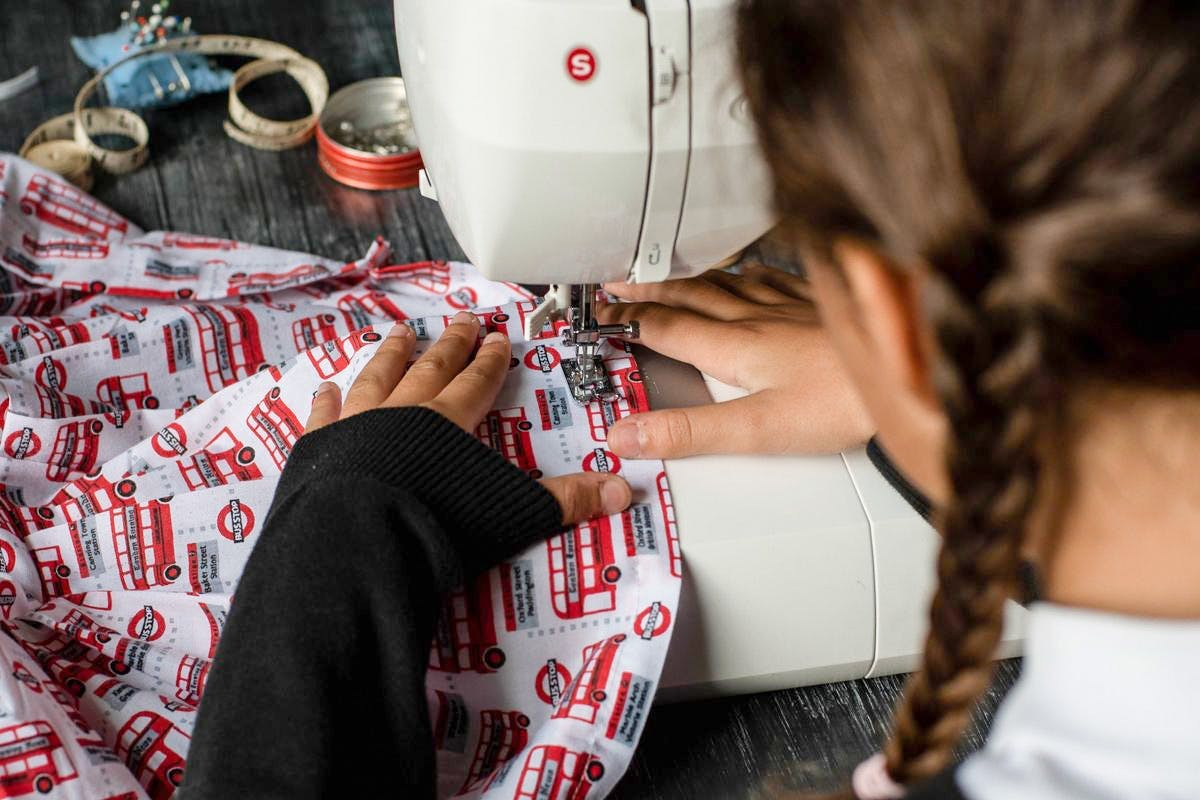Childrens sewing from Arkdefo and Virgin Experience Days