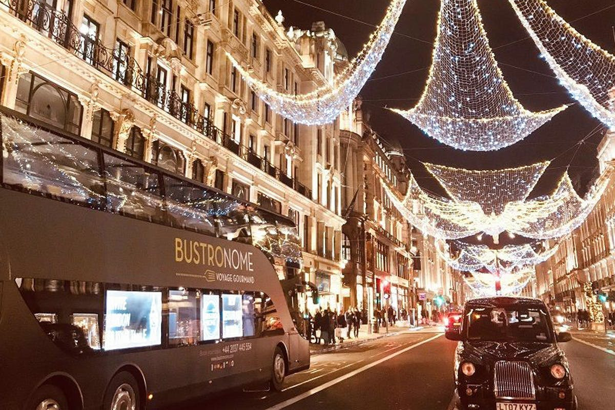 Six Course Dinner and Tour for Two aboard the Bustronome, London