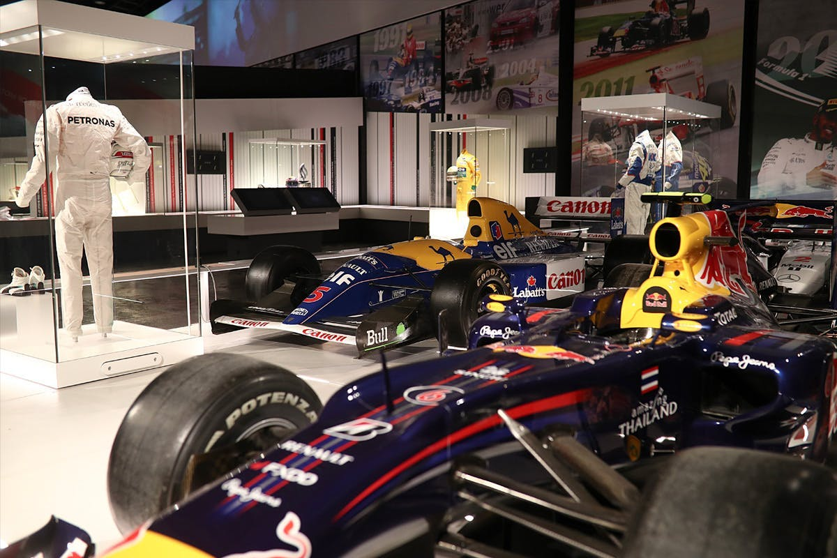 The Silverstone Interactive Museum – An Immersive History of British Motor Racing for Two