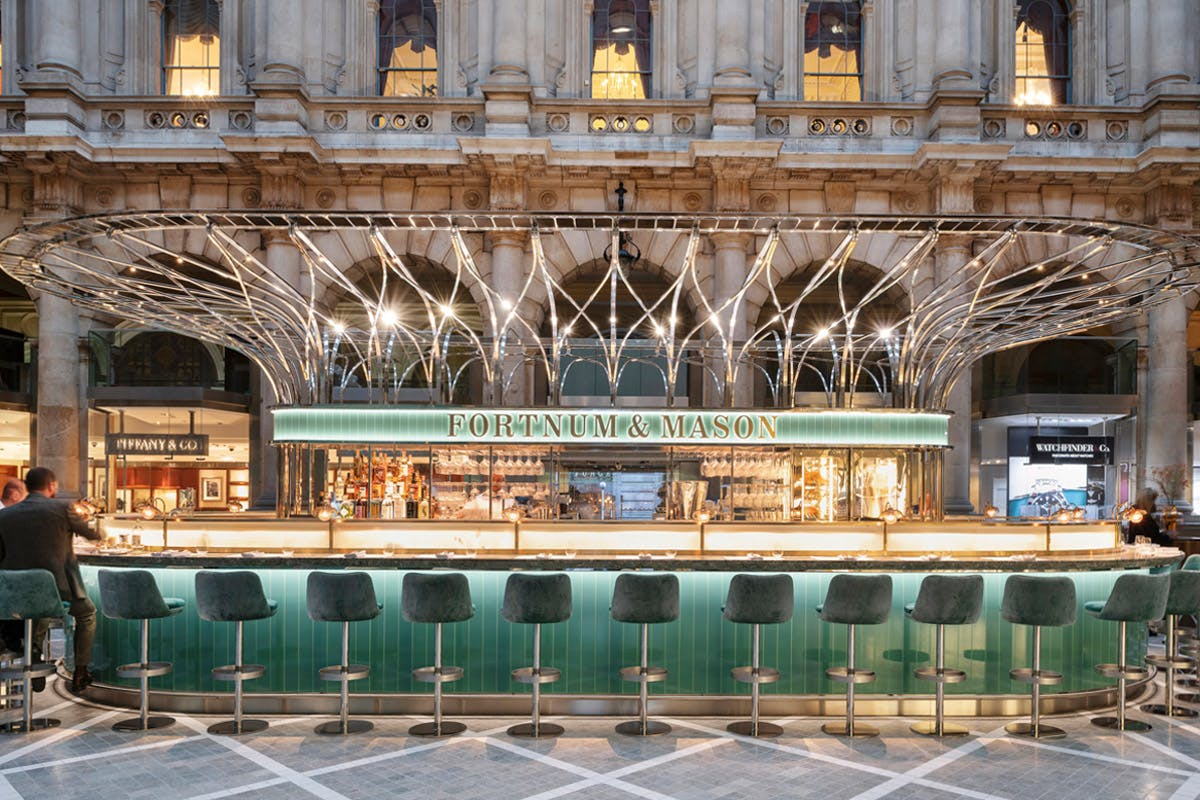 Christmas gifts for couples three course dinner Fortnum and Mason London Virgin Experience Days