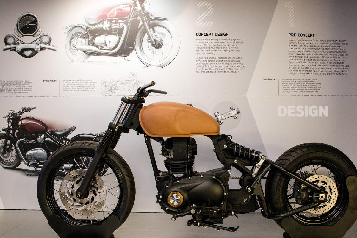 Triumph Motorcycle Factory Tour for Two