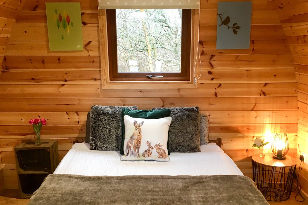 Glamping sustainable getaway Back of Beyond Dorset with Virgin Experience Days