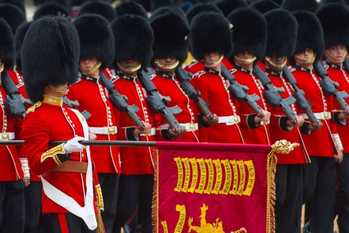 The Sword & The Crown exclusive event at the Horse Guards Parade July 2021