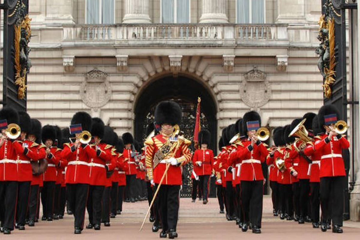 Image of guard at 'The Sword and the Crown' at Royal Horse Guards Parade