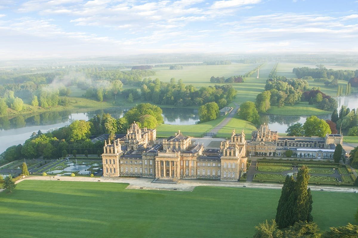 Blenheim Palace and lunch Oxfordshire relaxing days out with Virgin Experience Days