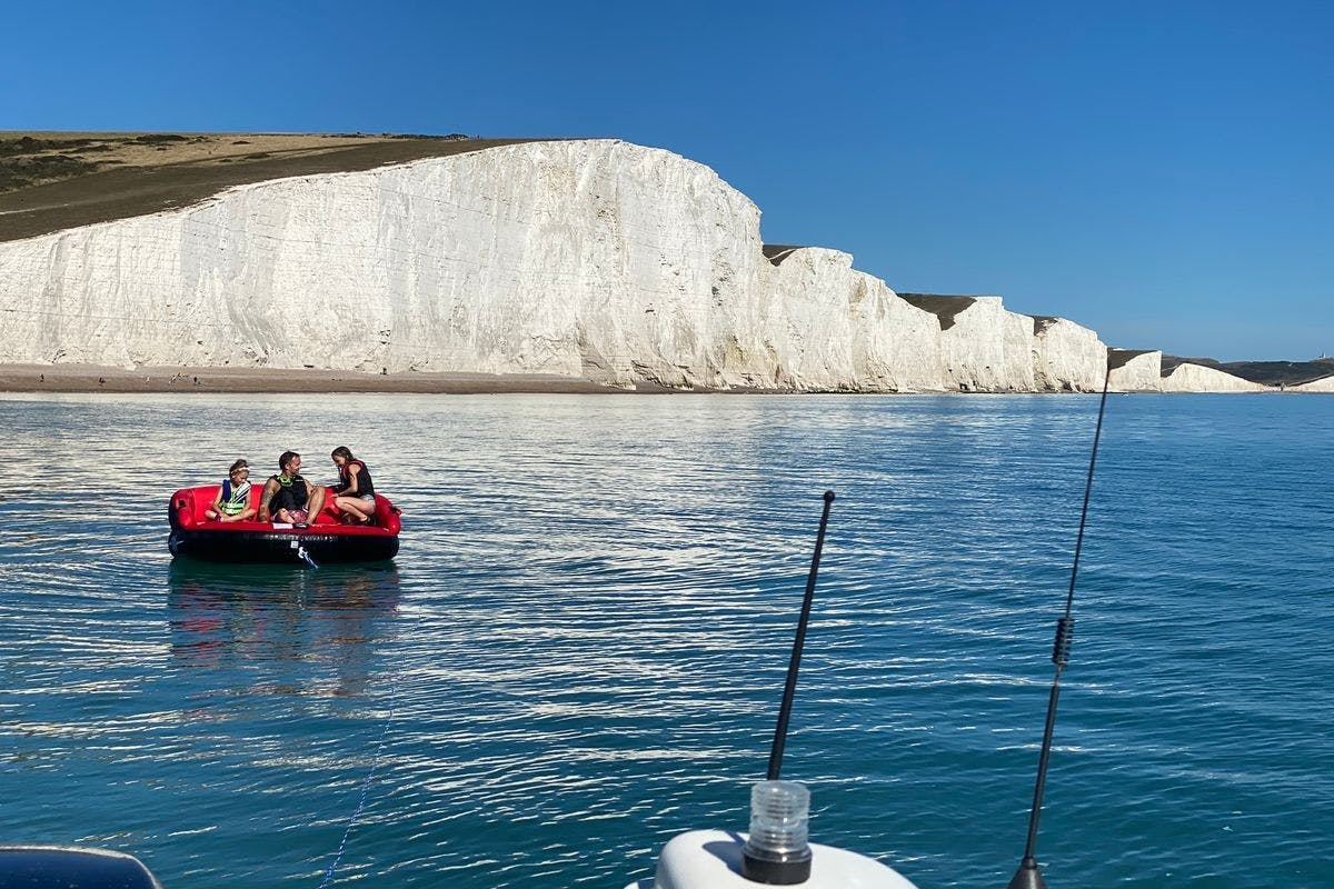 Water Skiing or Wakeboarding off the Sussex Coast for Two
