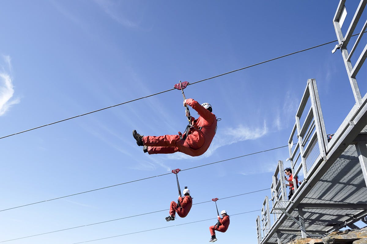 Zip world Titan experience for two with Virgin Experience Days
