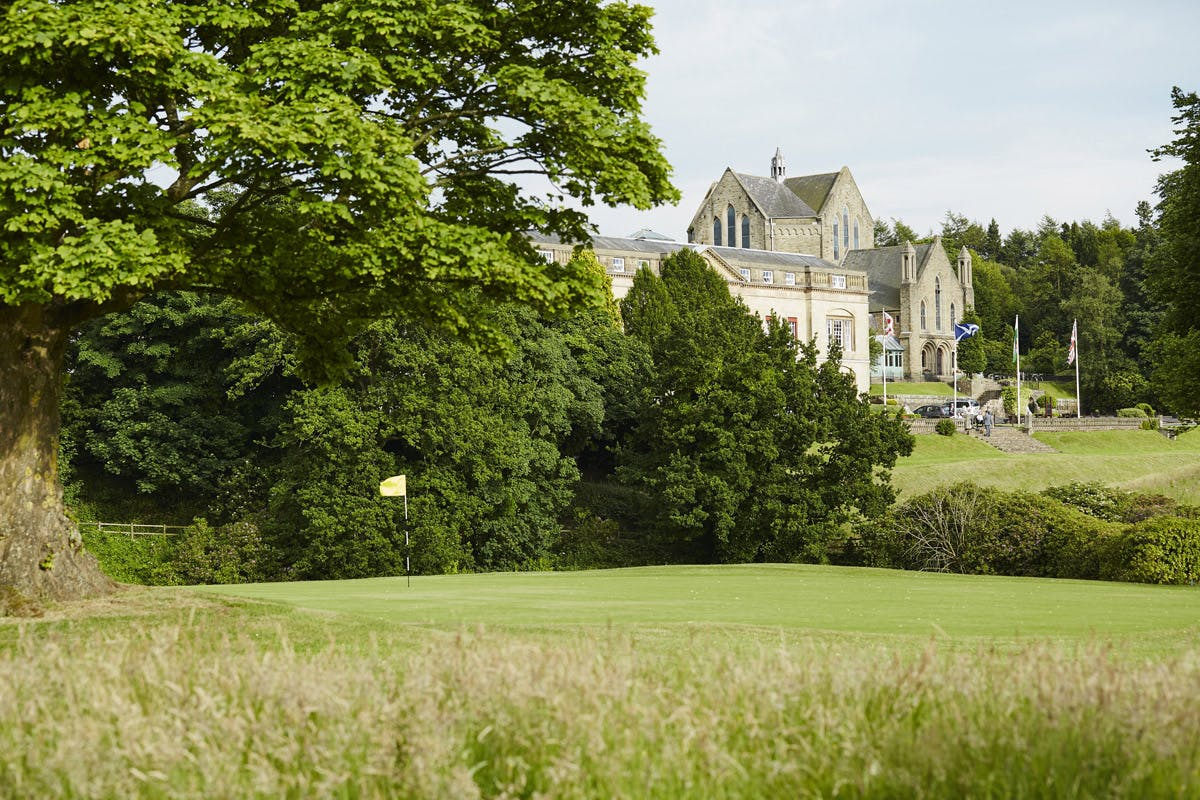18 Hole Round Of Golf For Two At The Shrigley Hall Hotel & Spa   Virgin Experience Days Voucher