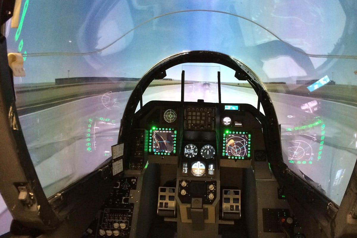 30 minute F16 Fighter Pilot Simulator Experience