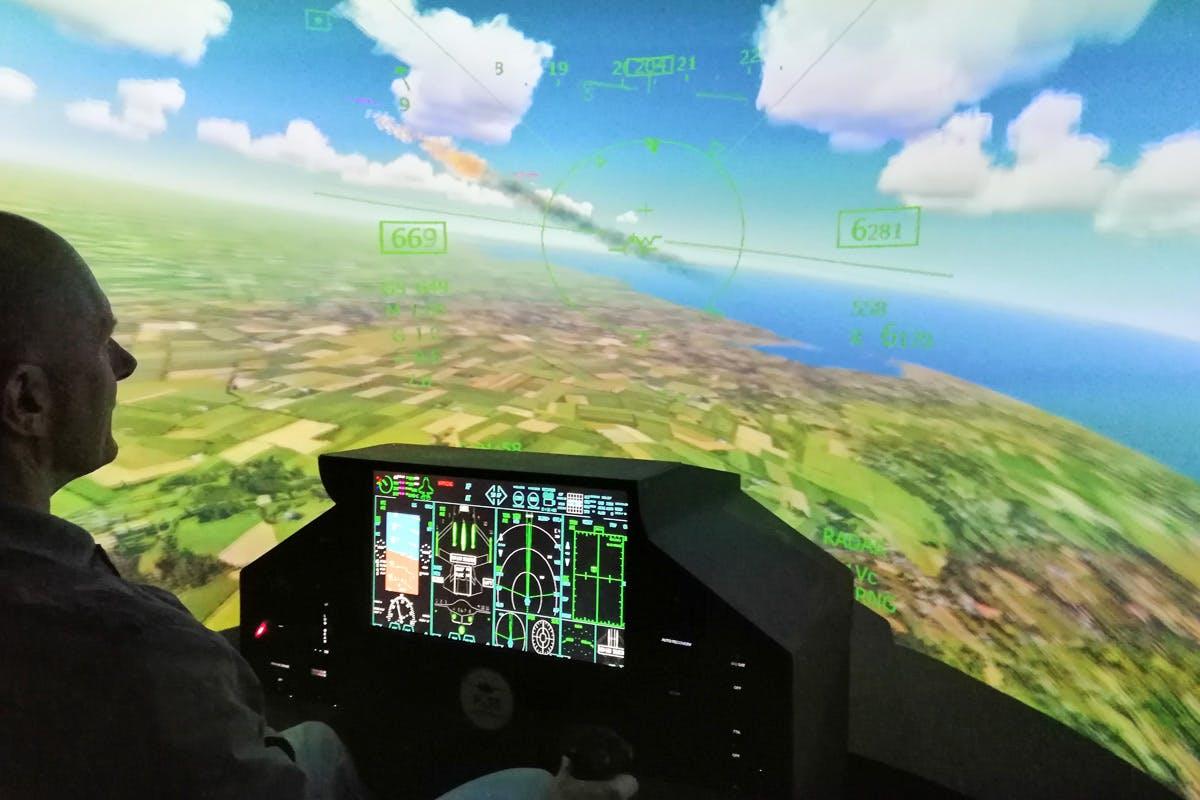 30 minute F-35 Fighter Jet Flight Simulator