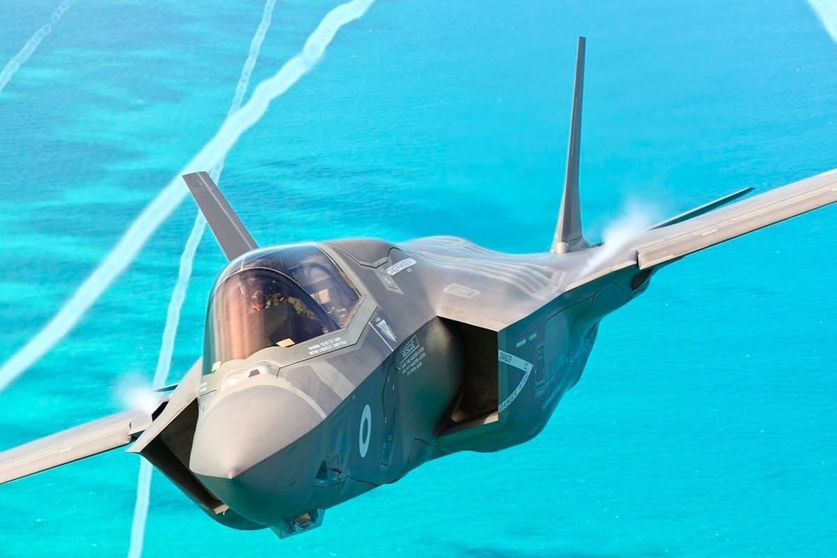 60 minute F-35 Fighter Jet Flight Simulator