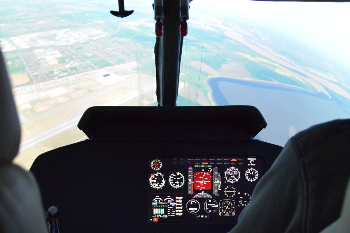 45 Minute Helicopter Simulator Experience In A Agusta Bell Helicopter   Virgin Experience Days Voucher