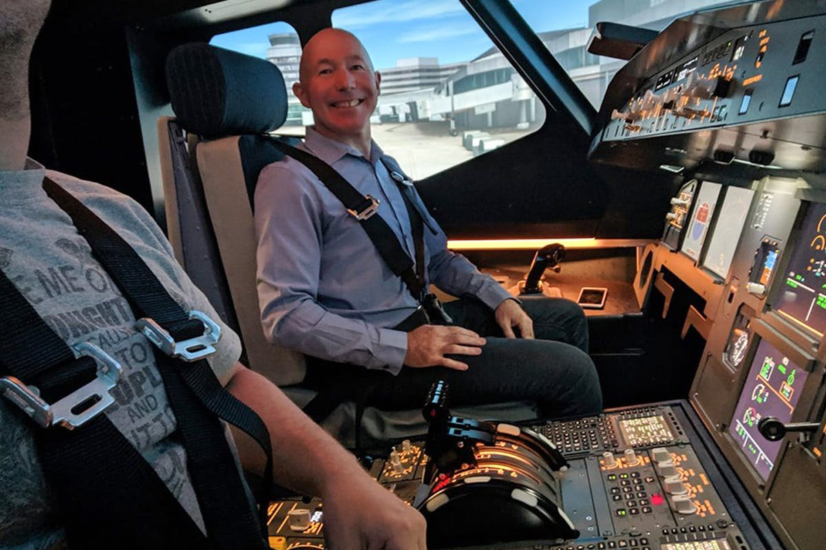 60 minute Airbus A320 Flight Simulator