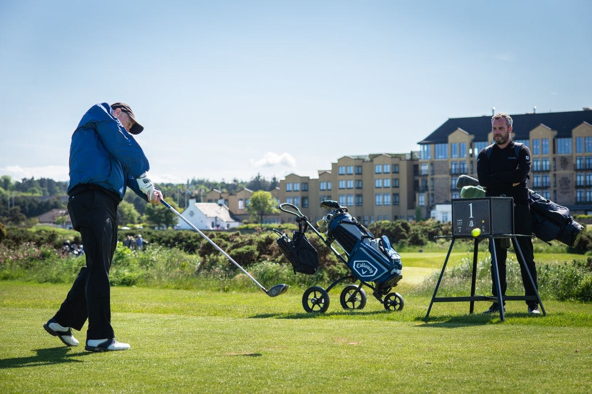60 Minute Lesson and Play 18 Holes with PGA Professional at the Home of Golf, St Andrews