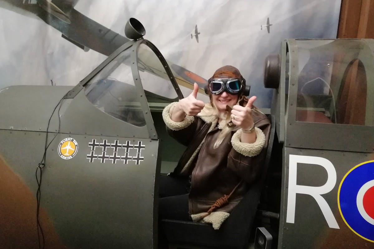 60 Minute Spitfire Flight Simulator