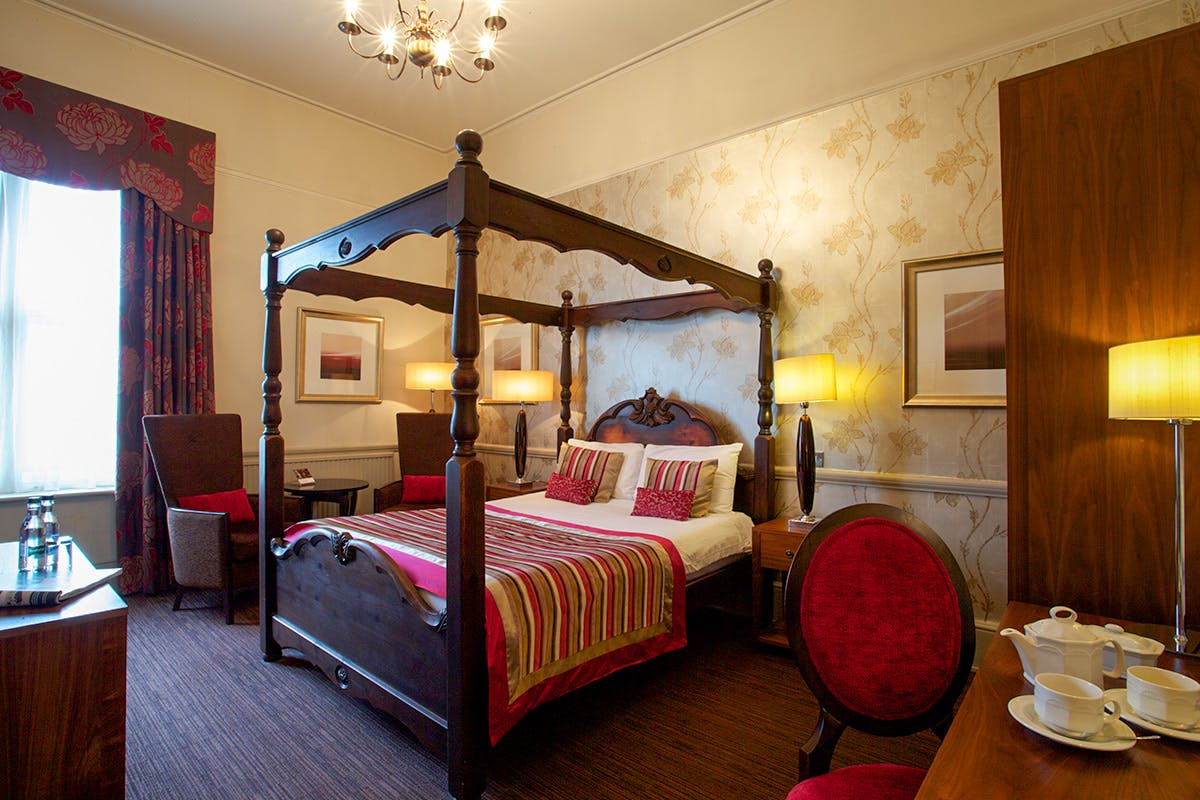 One Night Break with Dinner for Two at The Coulsdon Manor Hotel and Golf Club