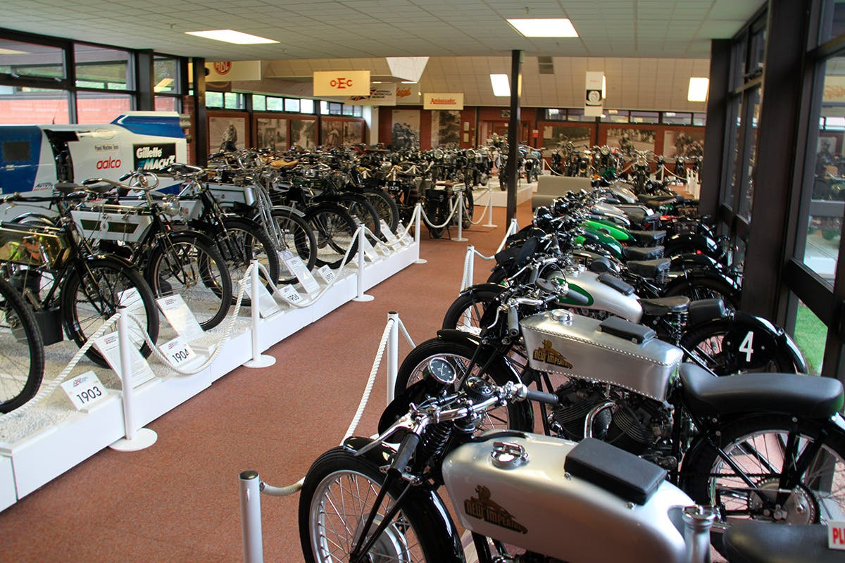 Visit to The National Motorcycle Museum for Two Adults and Two Children