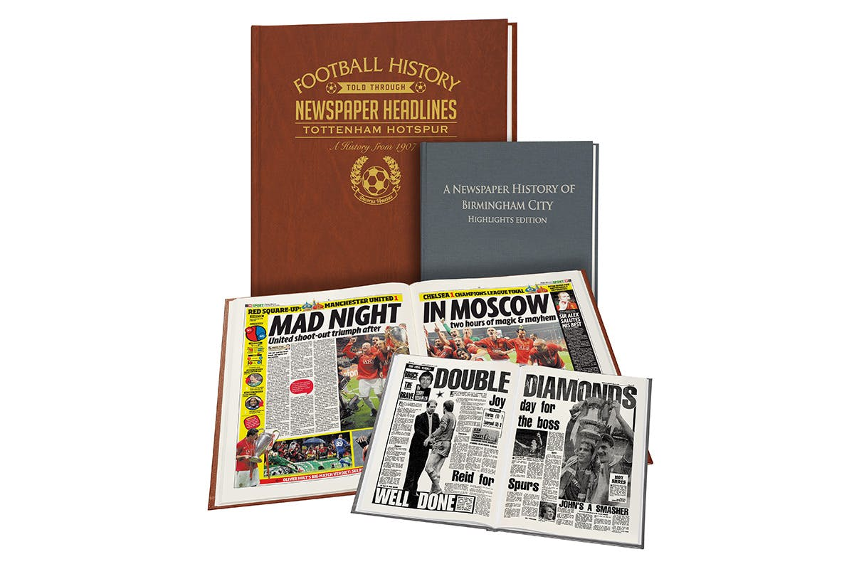 Football Archive Book