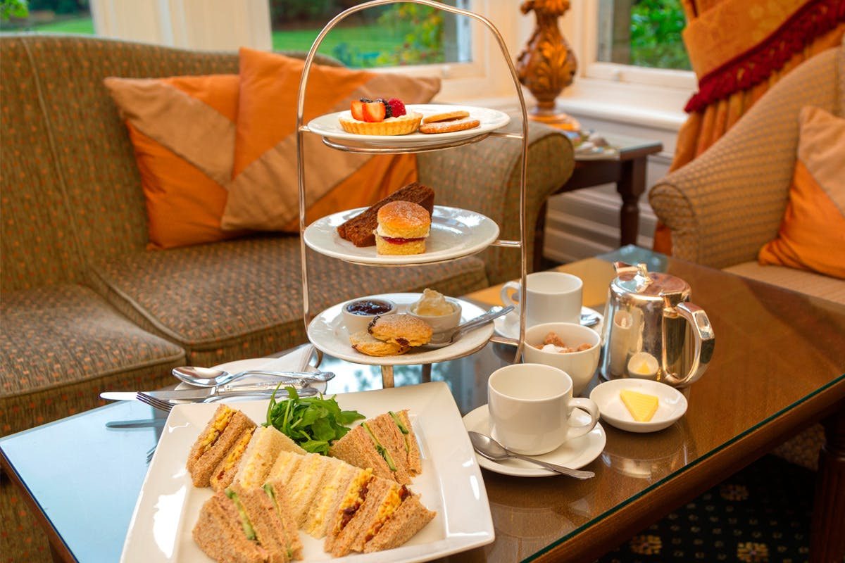 Champagne Afternoon Tea for Two at Grinkle Park Hotel
