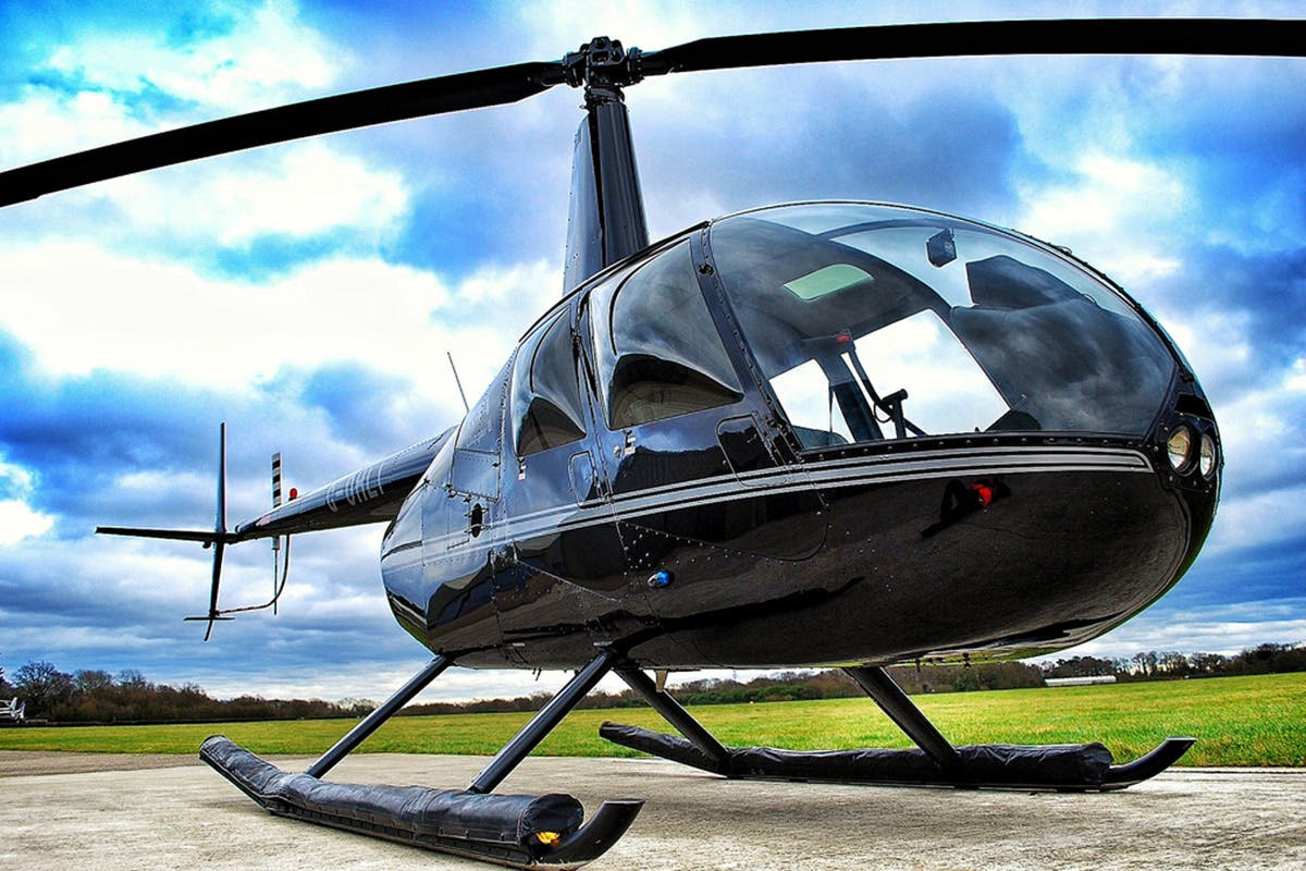 Helicopter Flying Lesson with Hover Challenge