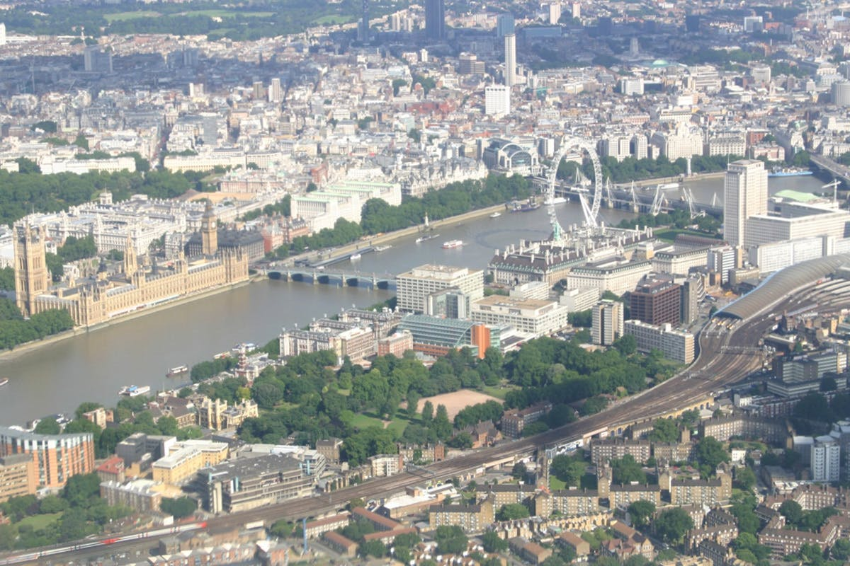 Glimpse of London Helicopter Tour for Two