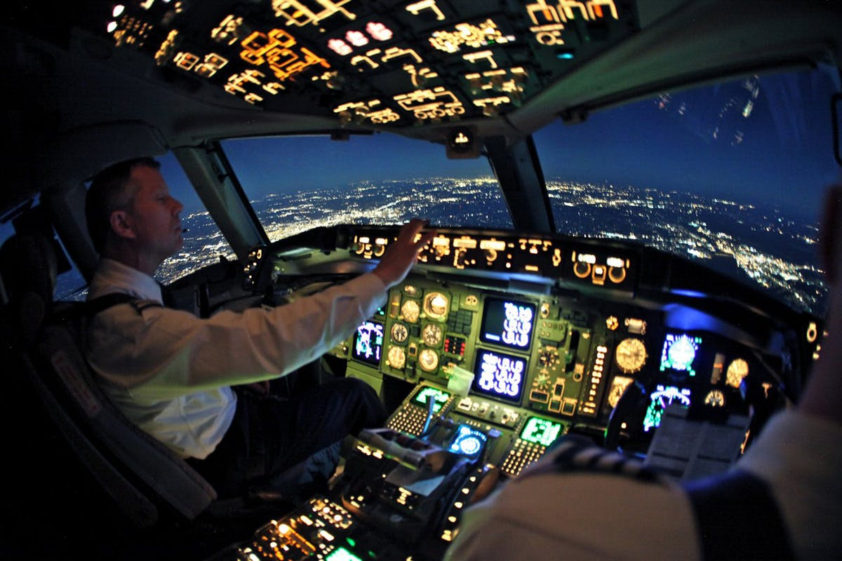 60 Minute Motion Flight Simulator
