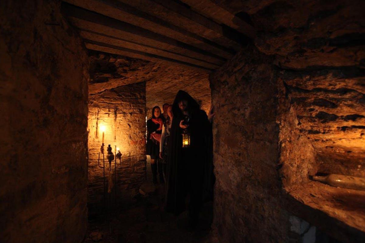 Ghostly Edinburgh Underground Vault Tour for Two