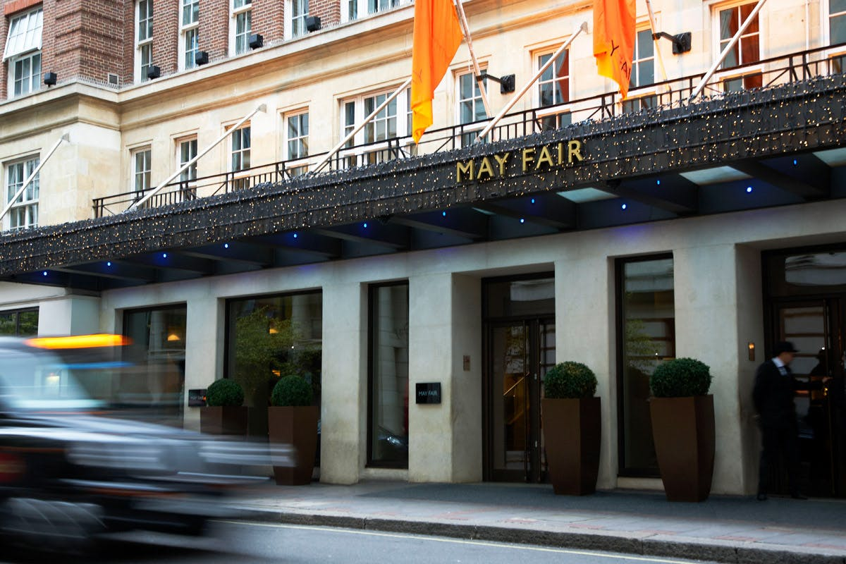 One Night Break for Two at the Luxury 5* May Fair Hotel, London