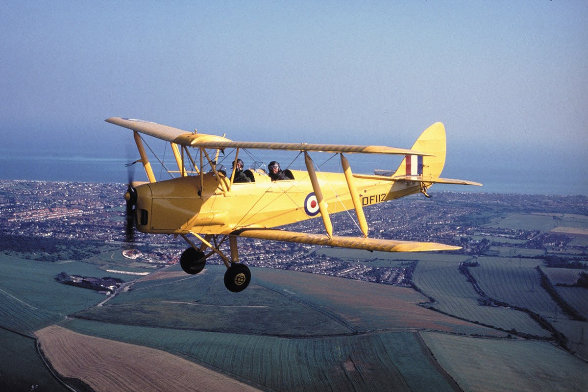 20 minute Tiger Moth Flight and IWM Duxford Entry