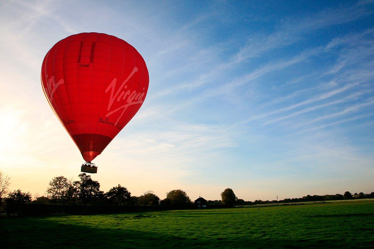Weekday Sunrise Virgin Hot Air Balloon Flight for Two