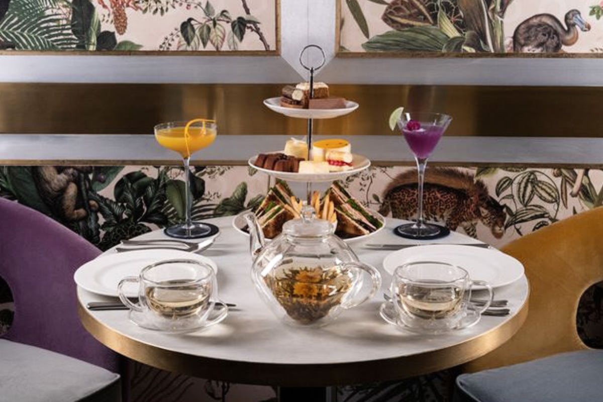 Afternoon Tea and Prosecco for Two at Arc Le Salon, Mayfair
