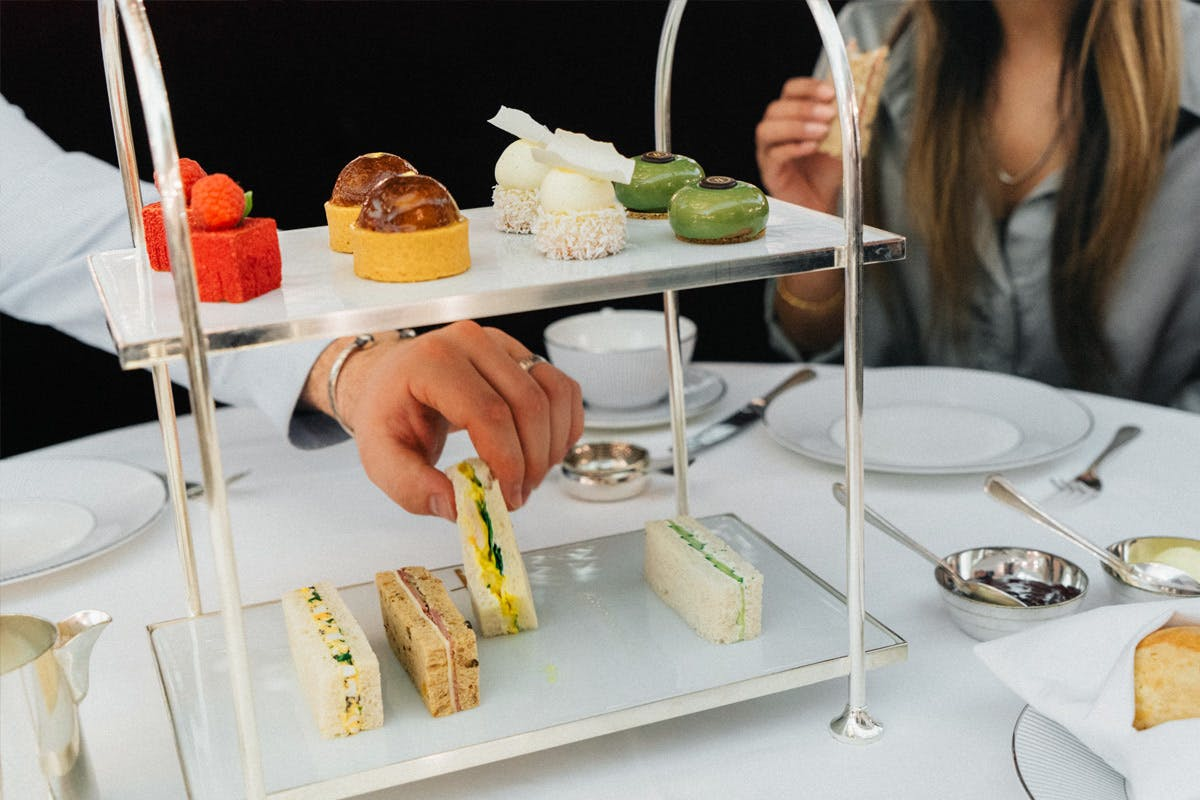 Champagne Afternoon Tea for Two at The Harrods Tea Rooms
