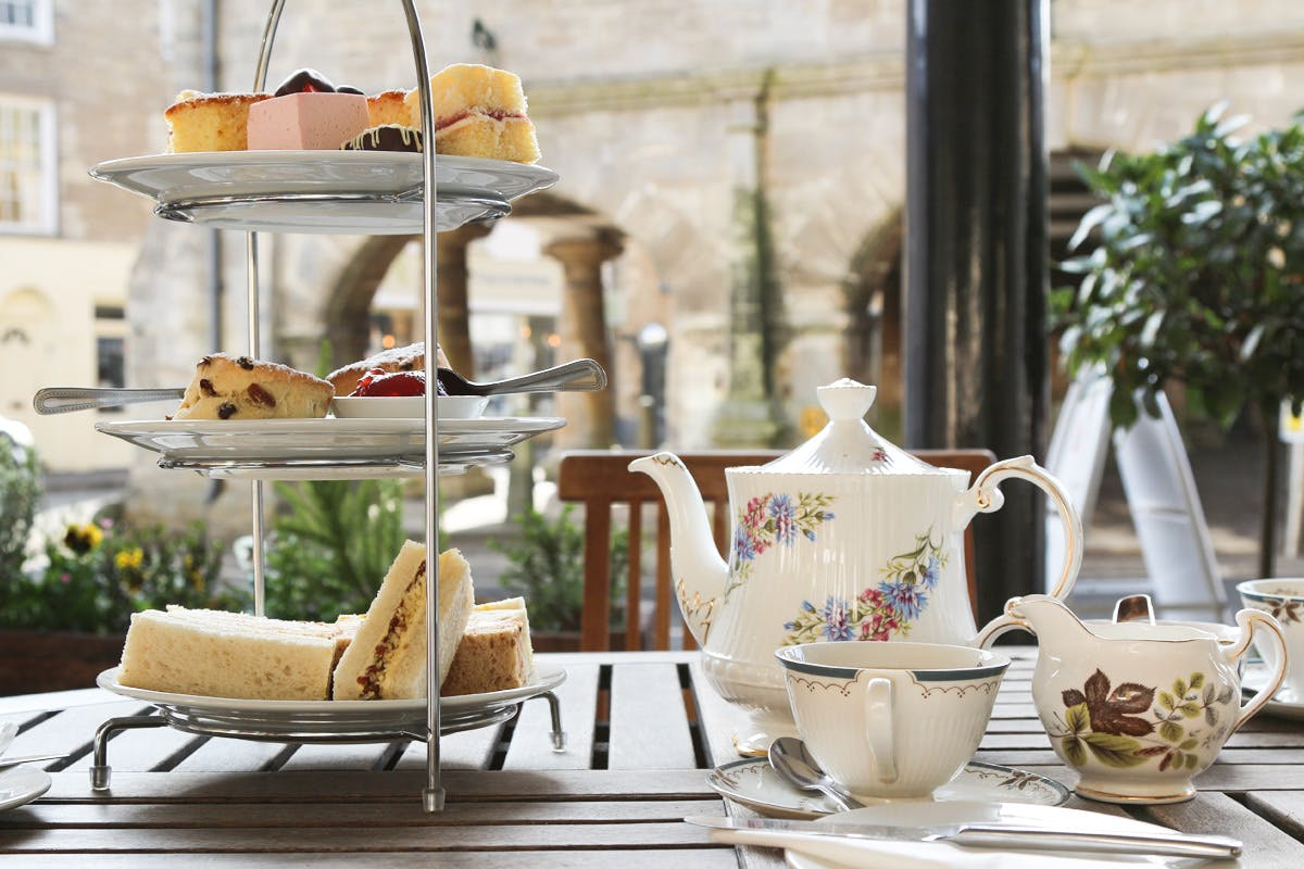 Afternoon Tea for Two at The Snooty Fox, Cotswolds
