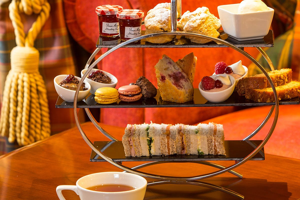 Afternoon Tea for Two at the Dalmahoy Hotel & Country Club, Edinburgh