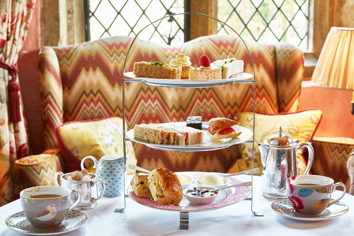 Afternoon Tea for Two at the Luxury Bailiffscourt Hotel
