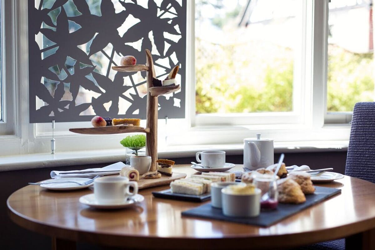 Afternoon Tea for Two at the Two AA Rosette Arbor Restaurant, Bournemouth