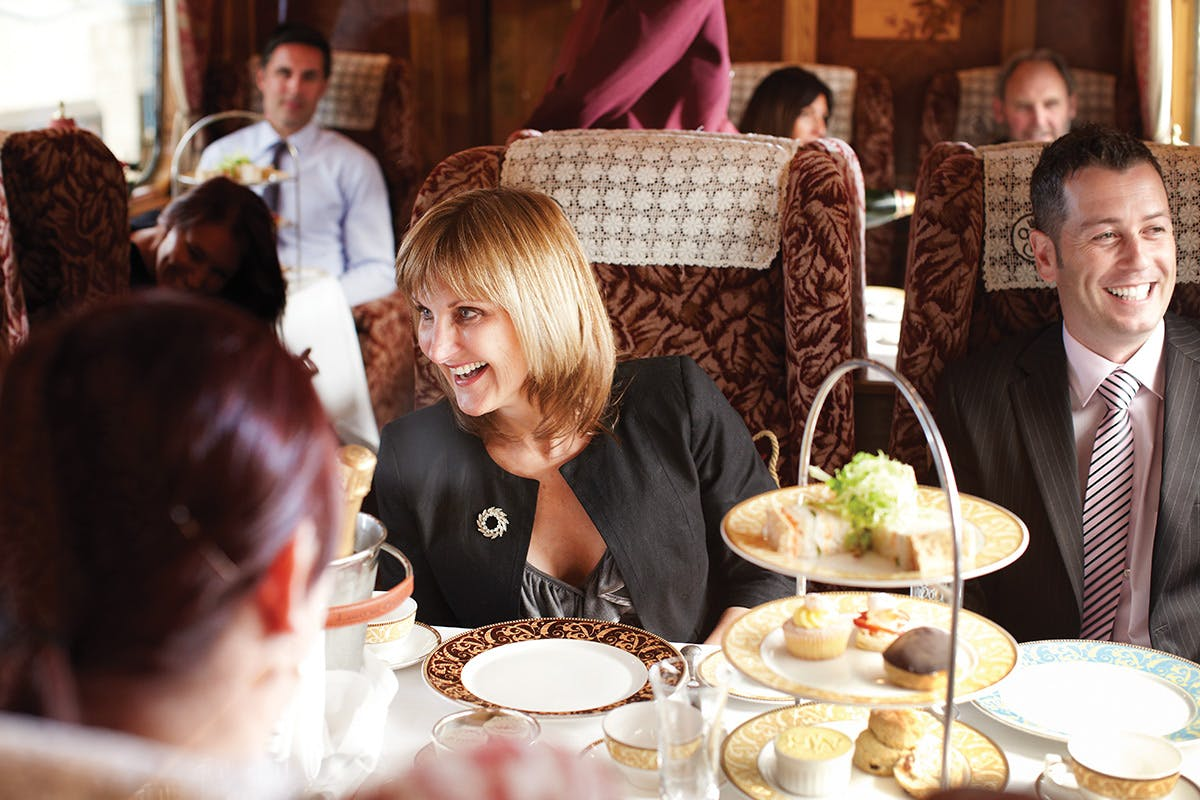 Afternoon Tea for Two on the Northern Belle