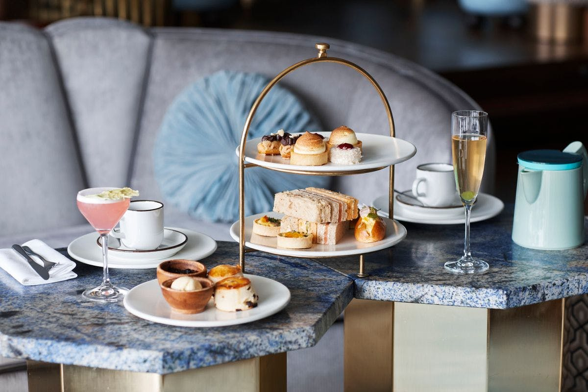 Afternoon Tea with Cocktails for Two at the Iconic Sea Containers London
